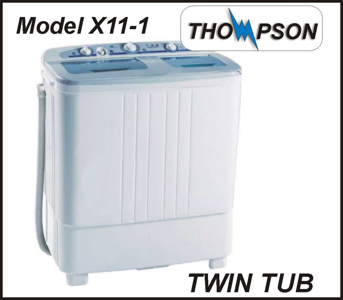 Thompson Twin Tub Washing Machine Model X11-1 BRAND NEW